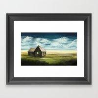 Lost House  Framed Art Print