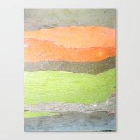 Retro Wood Canvas Print