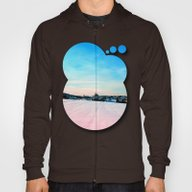 Village Scenery In Winte… Hoody