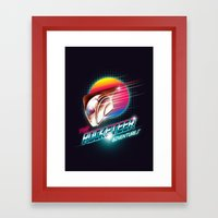The Rocketeer Framed Art Print