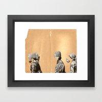 Middle Child Framed Art Print