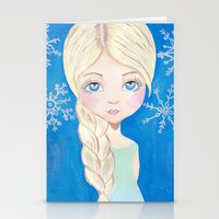 Ice Queen Stationery Cards