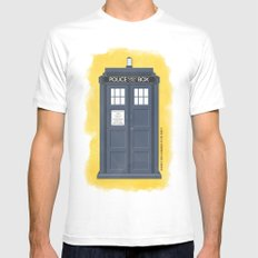 9th Doctor - DOCTOR WHO Mens Fitted Tee SMALL White