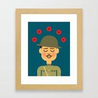 Remembrance Day Framed Art Print
