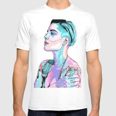 Halsey Mens Fitted Tee White SMALL