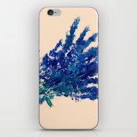 Fresh Cut Lavender Watercolors On Paper Edit iPhone & iPod Skin