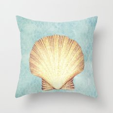 concha de mar Throw Pillow