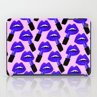 Never Enough Lipstick iPad Case