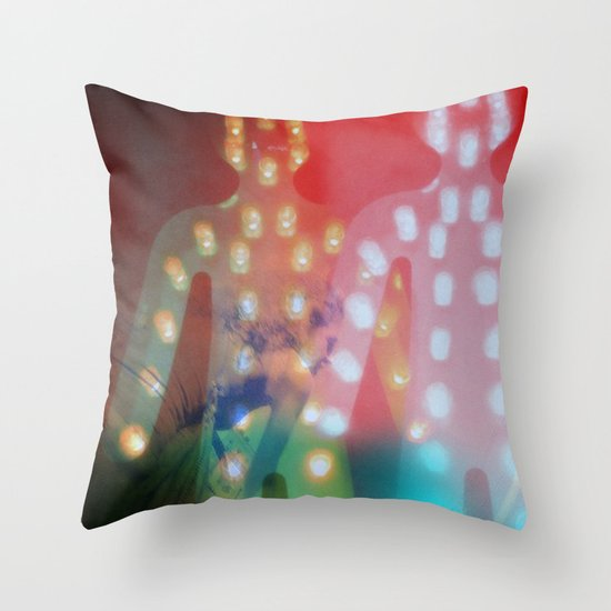 Stop, maybe Throw Pillow