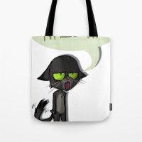 Mean Cat Tote Bag