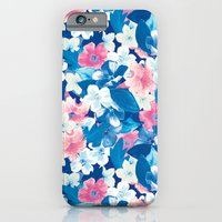 Bloom Blue iPhone 6 Slim Case