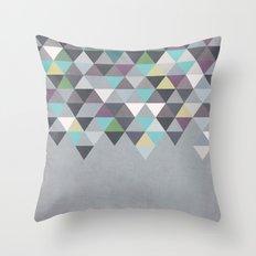 Nordic Combination 7 Throw Pillow