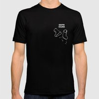 South Gilboa Mens Fitted Tee Black SMALL