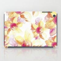 Sunflowers Watercolor iPad Case