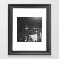 Insomnia City Framed Art Print