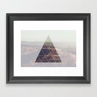 Prism Road Framed Art Print