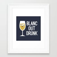 And The Next Thing Vino… Framed Art Print