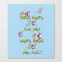 Happy Sing Along Canvas Print