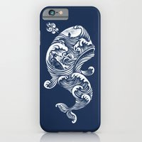 iPhone Cases featuring The White Whale  by Peter Kramar