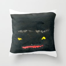 Face #03 Throw Pillow