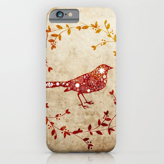 bird wreath iPhone & iPod Case
