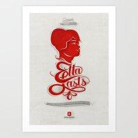 • Etta Lasts • Art Print