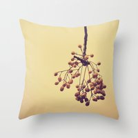Autumn life (IV) Throw Pillow