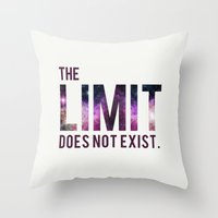 The Limit Does Not Exist… Throw Pillow