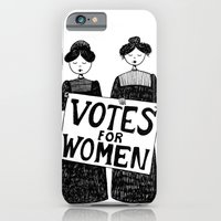 votes for women iPhone 6 Slim Case