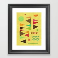 Tangential Paralysis (Pa… Framed Art Print