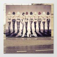 Delightful Bum Ehm Citys… Canvas Print