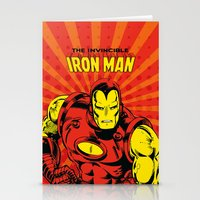 IronMan 2 Stationery Cards