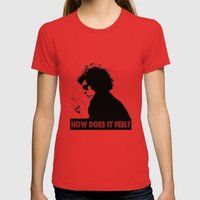 How Does It Feel?     Bo… Womens Fitted Tee Red SMALL