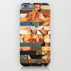 Glitch Pin-Up Redux: Olivia Slim Case iPhone 6s