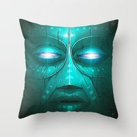 Tribe Throw Pillow