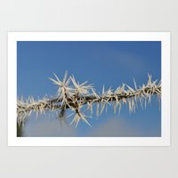 Ice Crystals I Art Print