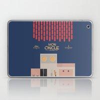 Mon Oncle - Jacques Tati Movie Poster Laptop & iPad Skin