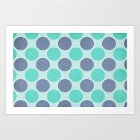 Dot Dot Dot... Art Print