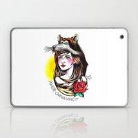 Chica Lobo Laptop & iPad Skin