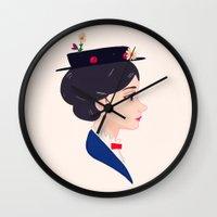 A Spoonful of Sugar Wall Clock