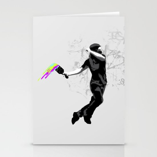 We need more color! Stationery Card