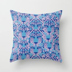 Psychedelic Camouflage Throw Pillow