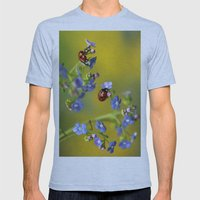 Forget me not... Mens Fitted Tee Athletic Blue SMALL