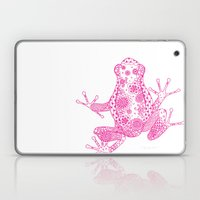 Little Frog Magenta Laptop & iPad Skin