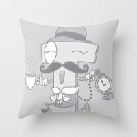 It's T time! Throw Pillow