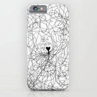 The Lines Of Love - Whit… iPhone 6 Slim Case