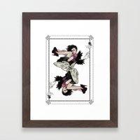 Queen of Wings Framed Art Print