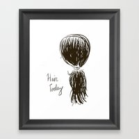 Hair Today Framed Art Print