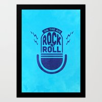 Rock'N'Roll Art Print