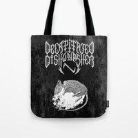 Decapitated By Dishwashe… Tote Bag